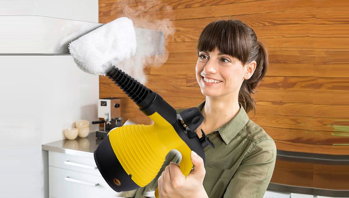 How to use the garment steamer
